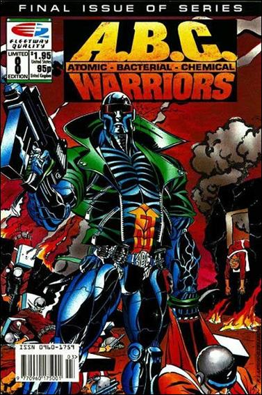 A.B.C. Warriors 8-A by Fleetway Quality