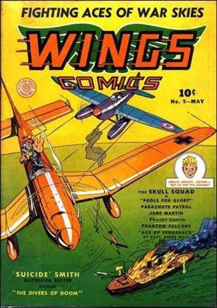 Wings Comics (1940) 9-A