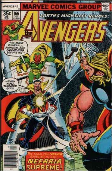 Avengers (1963) 166-A by Marvel