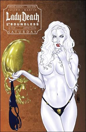 Lady Death Origins Annual 1-F