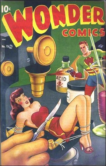 Wonder Comics (1944) 15-A by Better Publications