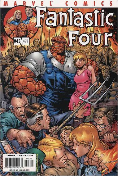 Fantastic Four (1998) 45-A by Marvel