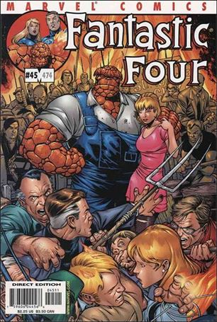 Fantastic Four (1998) 45-A