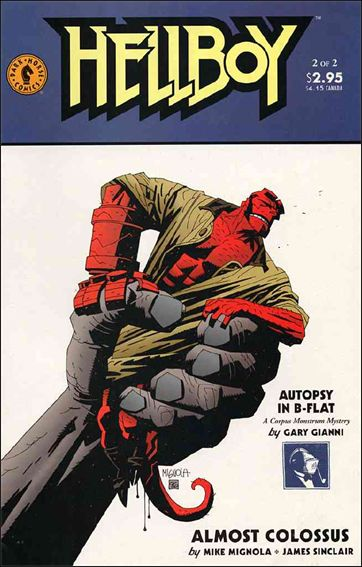 Hellboy: Almost Colossus 2-A by Dark Horse