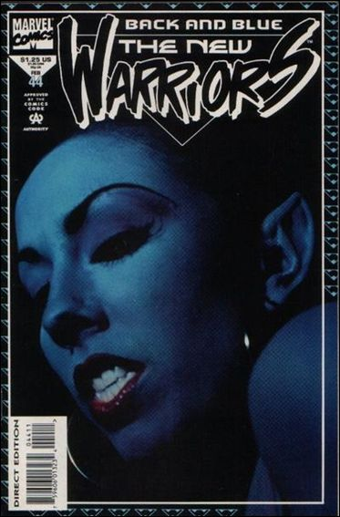 New Warriors (1990) 44-A by Marvel
