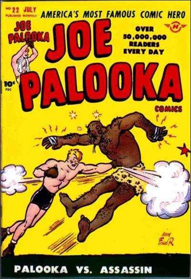 Joe Palooka (1945) 22-A by Harvey