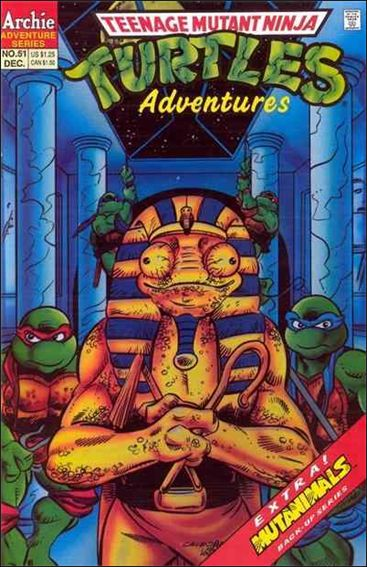 Teenage Mutant Ninja Turtles Adventures (1989) 51-A by Archie