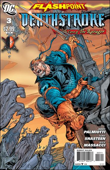 Flashpoint: Deathstroke & the Curse of the Ravager 3-A by DC
