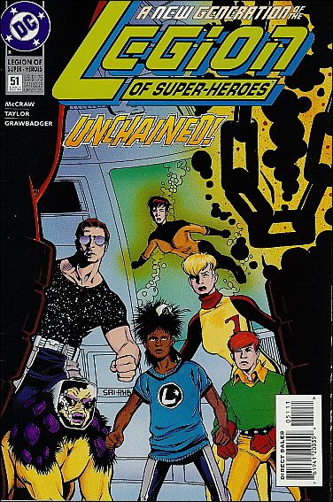 Legion of Super-Heroes (1989) 51-A by DC