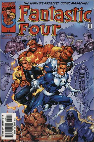 Fantastic Four (1998) 34-A by Marvel