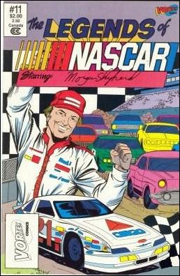 Legends of Nascar 11-B by Vortex Comics