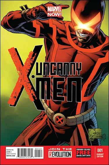Uncanny X-Men (2013) 1-C by Marvel