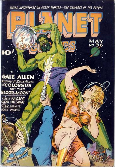 Planet Comics (1940) 36-A by Fiction House Magazines