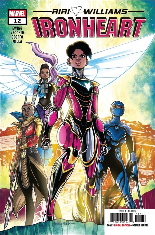 Ironheart 12-A by Marvel