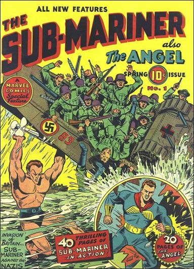 Sub-Mariner (1941) 1-A by Atlas