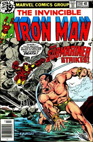 Iron Man (1968) 120-A by Marvel