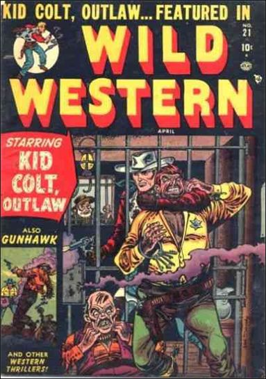 Wild Western 21-A by Marvel