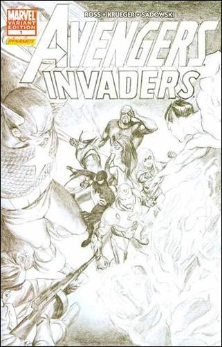 Avengers/Invaders 1-C by Marvel