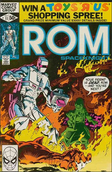 ROM (1979) 11-A by Marvel