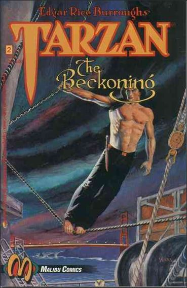 Tarzan: The Beckoning 2-A by Malibu