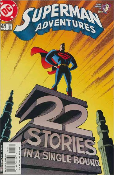 Superman Adventures 41-A by DC