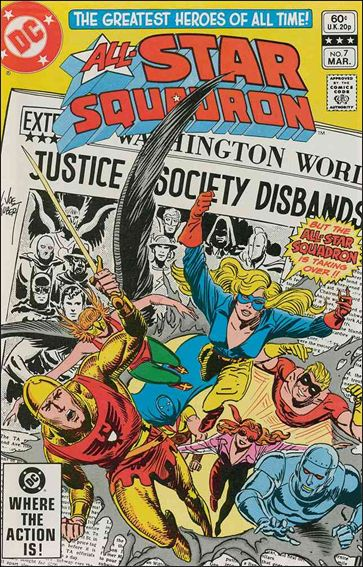 All-Star Squadron 7-A by DC