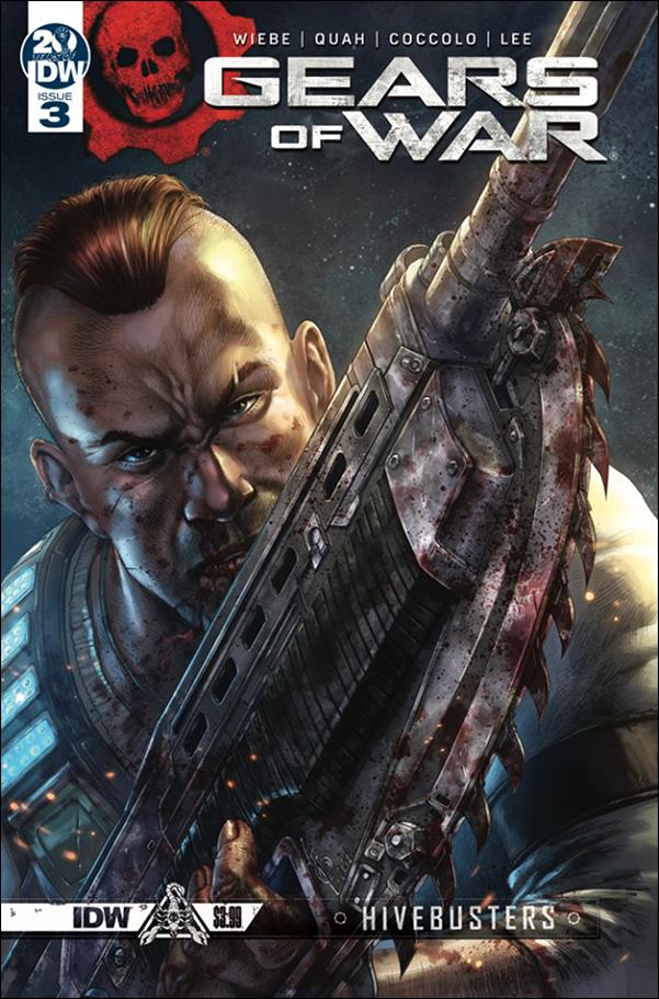 Gears of War: Hivebusters 3-A by IDW