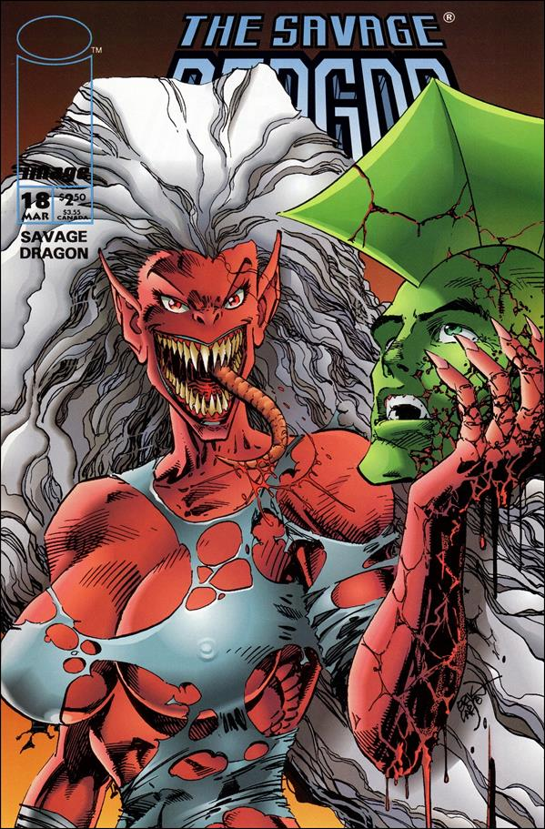Savage Dragon (1993) 18-A by Image