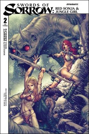 Swords of Sorrow: Red Sonja & Jungle Girl 2-A