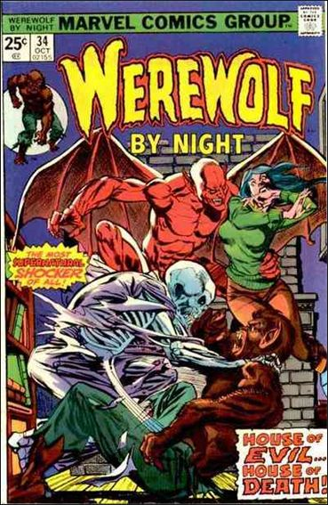 Werewolf by Night (1972) 34-A by Marvel