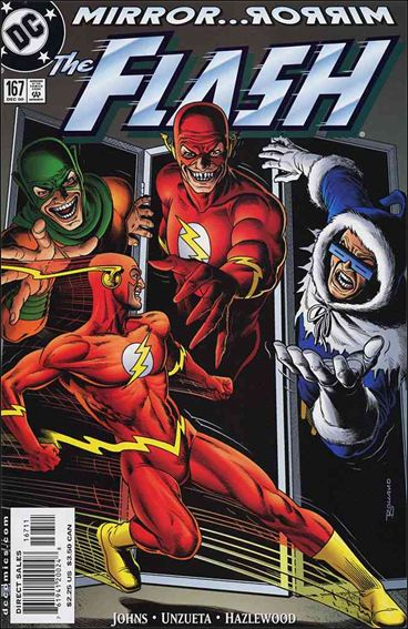 Flash (1987) 167-A by DC
