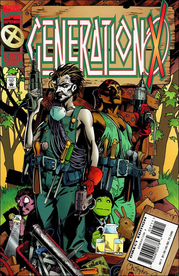 Generation X (1994) 7-A by Marvel