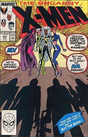Uncanny X-Men (1981) 244-A
