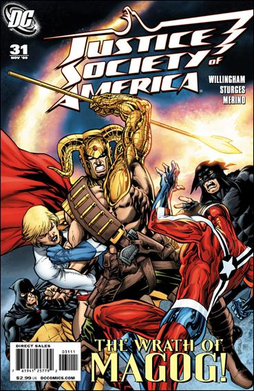 Justice Society of America (2007) 31-A by DC