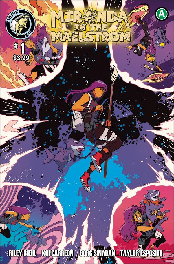 Miranda In The Maelstrom 1-A by Action Lab Entertainment