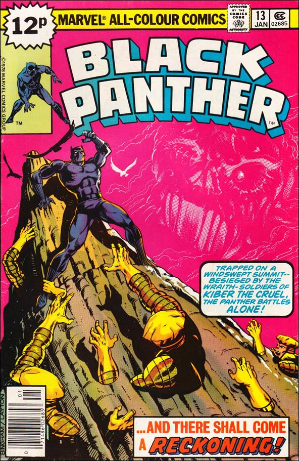 Black Panther (1977) 13-B by Marvel