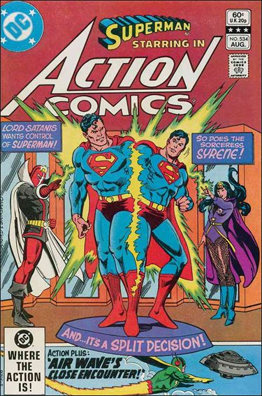 Action Comics (1938) 534-A by DC