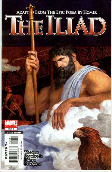 Marvel Illustrated: The Iliad 8-A by Marvel