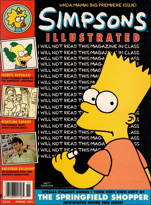 Simpsons Illustrated 1-A by Welsh Publishing Group