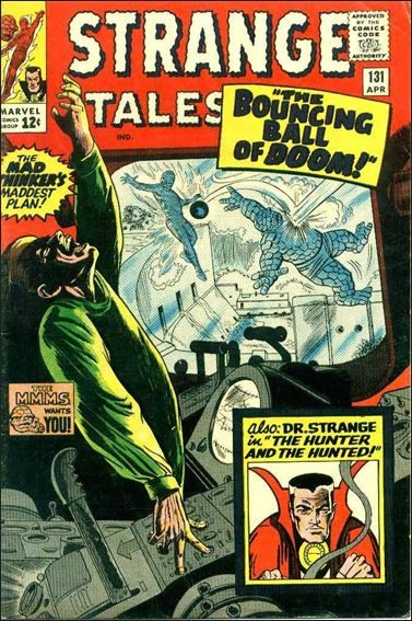 Strange Tales (1951) 131-A by Marvel