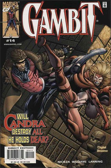 Gambit (1999) 14-A by Marvel
