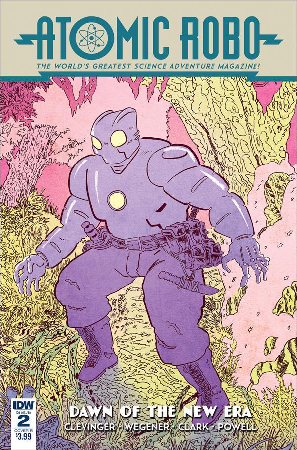 Atomic Robo: Dawn of a New Era 2-B by IDW