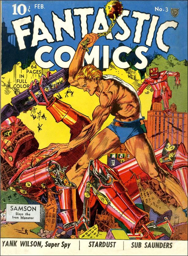 Fantastic Comics (1939) 3-A by Fox