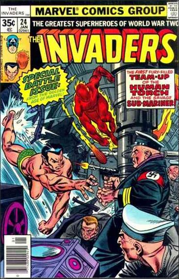 Invaders (1975) 24-A by Marvel