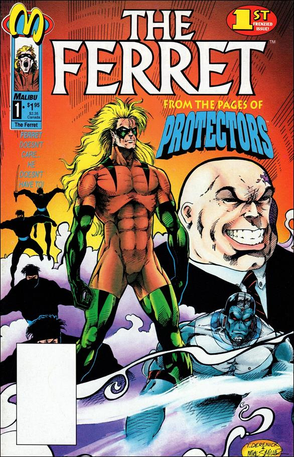 Ferret (1992) 1-A by Malibu