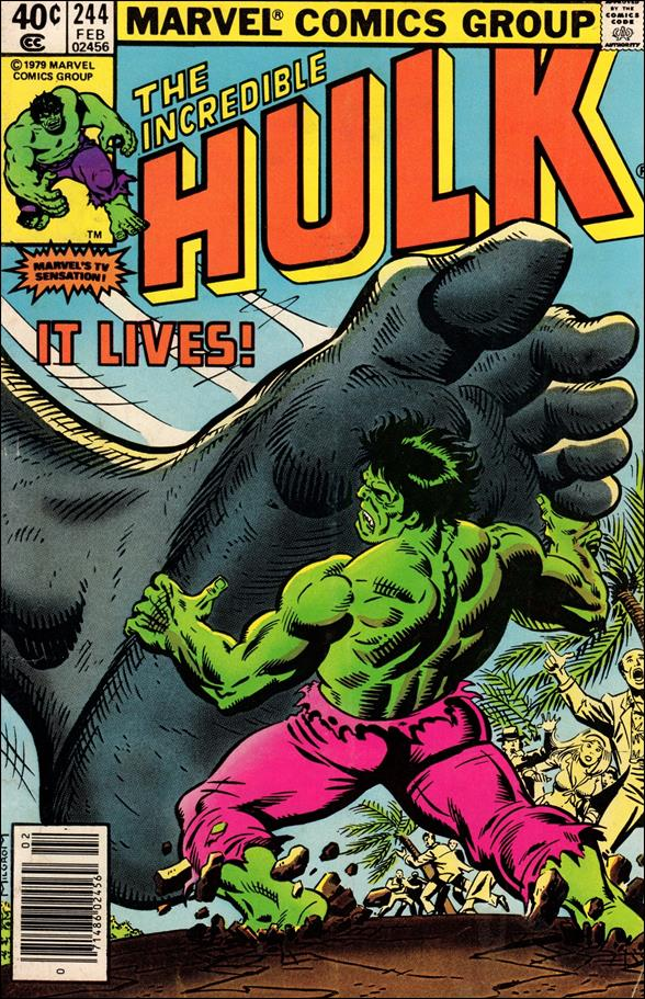 Incredible Hulk (1968) 244-A by Marvel