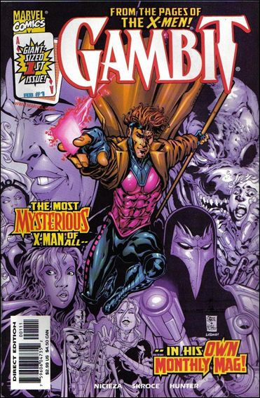 Gambit (1999) 1-A by Marvel