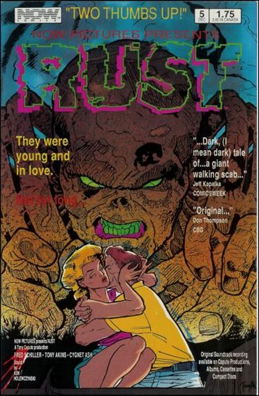 Rust (1987) 5-A by Now Comics