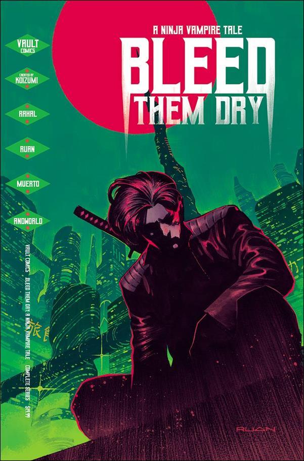 Bleed Them Dry nn-A by Vault Comics
