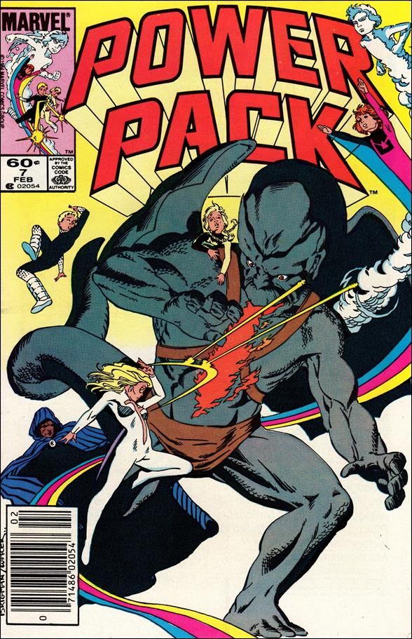 Power Pack (1984) 7-A by Marvel